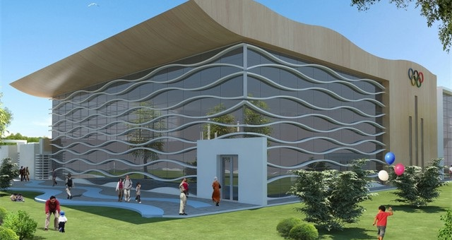 Archgues architecture agency casablanca architects morocco for Piscine olympique
